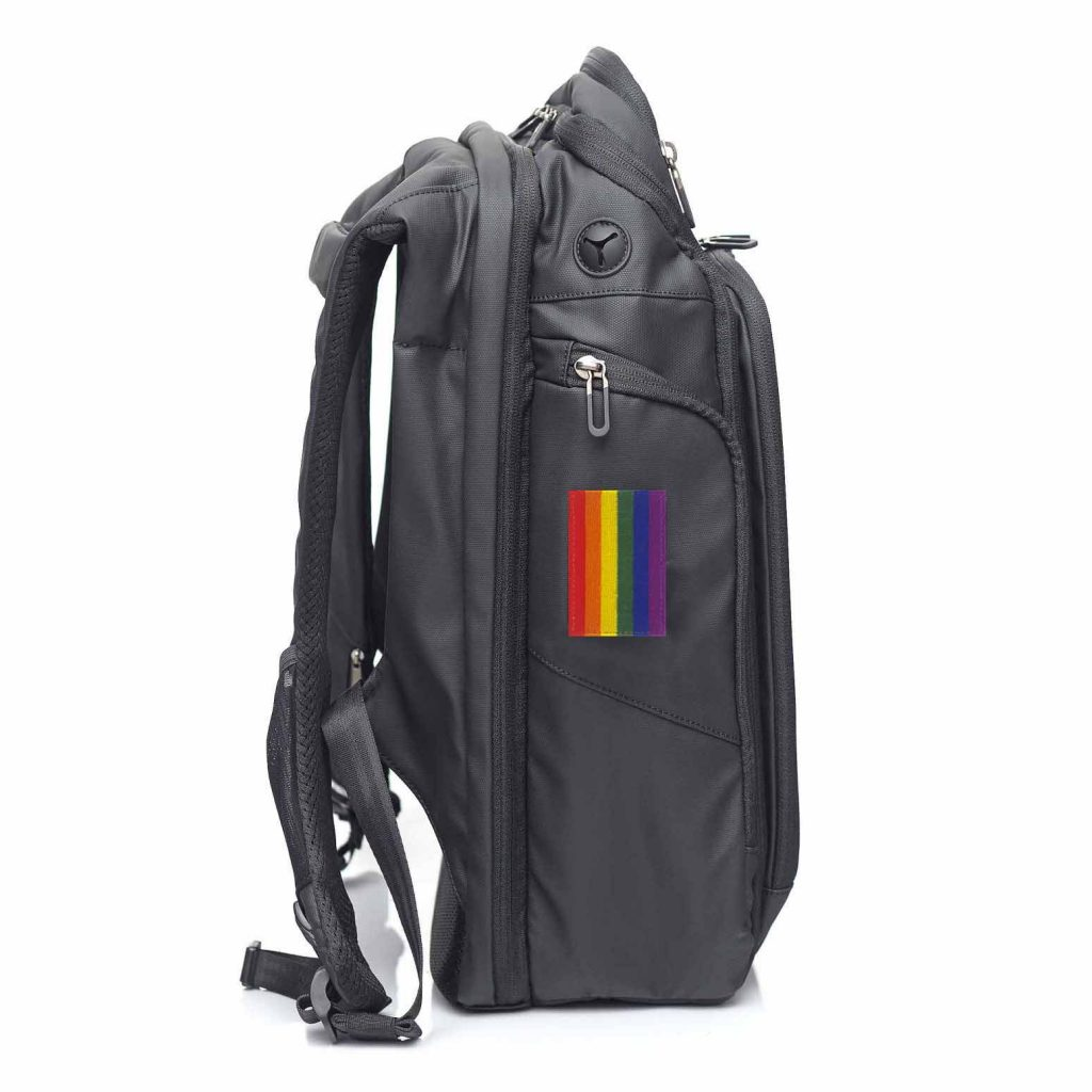 Pride NATERS Backpack Patch