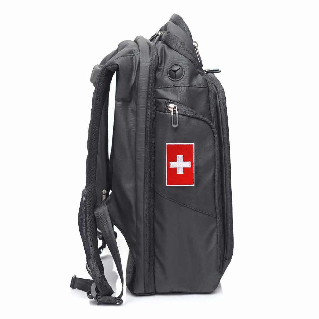 Switzerland NATERS Backpack Patch