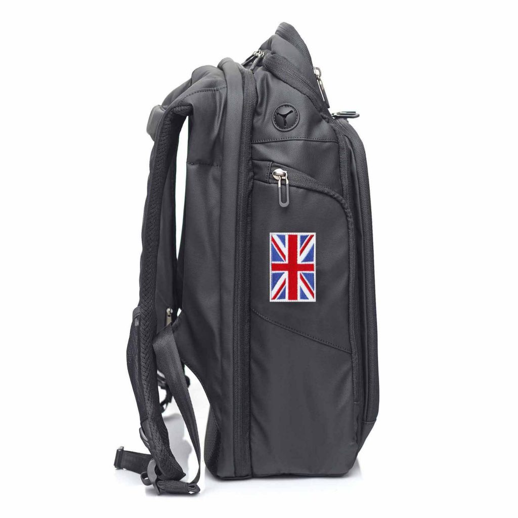 United Kingdom NATERS Backpack Patch